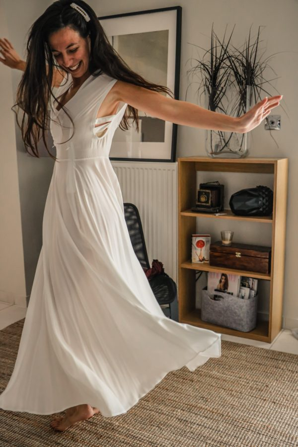 φορεμα λευκο argilos